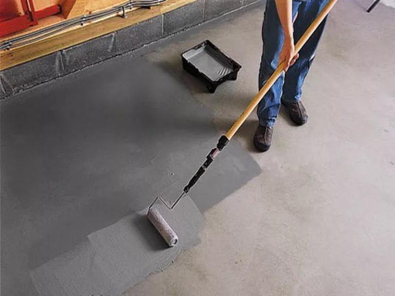 краска для бетонных полов гаражей