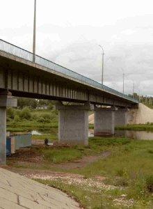 Мост через р. Вазуза материалы линейки Общий вид